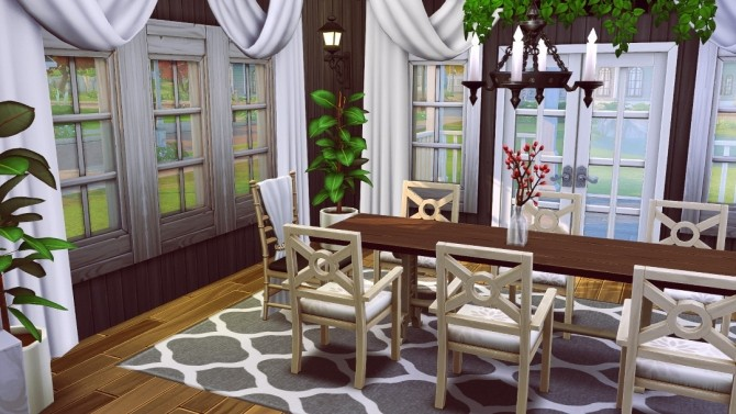 Fancy Craftsman house at Jenba Sims image 705 670x377 Sims 4 Updates