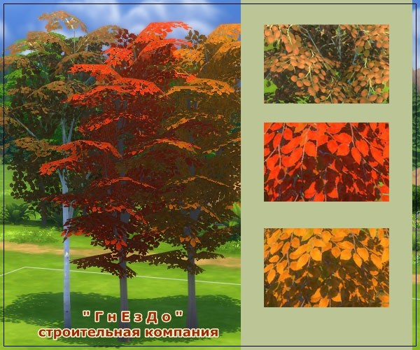 Autumn time vegetation at Sims by Mulena image 7110 Sims 4 Updates