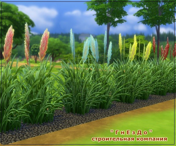 Autumn time vegetation at Sims by Mulena image 727 Sims 4 Updates