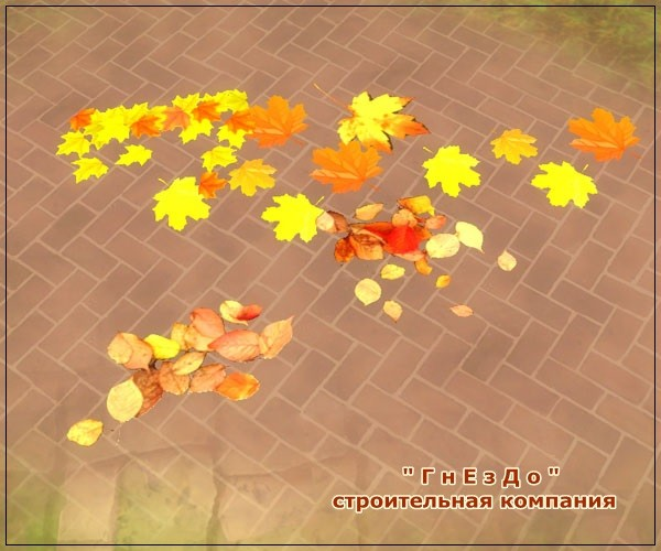 Autumn time vegetation at Sims by Mulena image 737 Sims 4 Updates