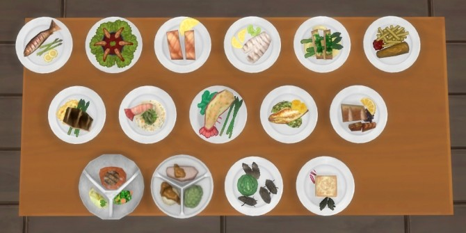 Inedible Edibles Part 3 Repast by Madhox at Mod The Sims image 748 670x335 Sims 4 Updates