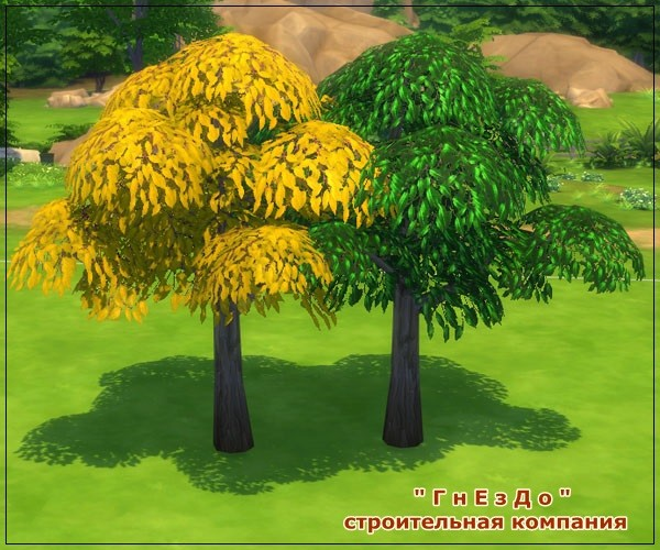 Autumn time vegetation at Sims by Mulena image 756 Sims 4 Updates
