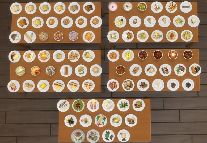 Inedible Edibles Part 3 Repast by Madhox at Mod The Sims image 758 670x464 Sims 4 Updates