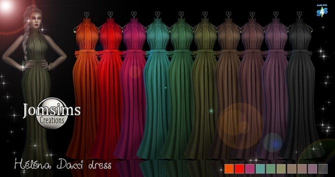 Helena dacci dress at Jomsims Creations image 7611 670x355 Sims 4 Updates