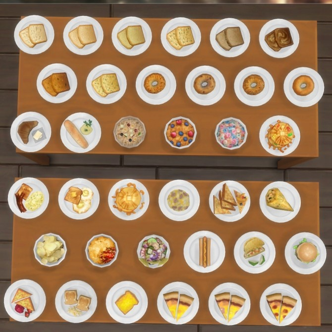 Inedible Edibles Part 3 Repast by Madhox at Mod The Sims image 778 670x670 Sims 4 Updates