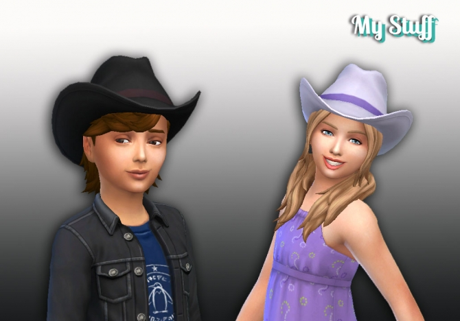 Cowboy Hat Conversion At My Stuff 187 Sims 4 Updates