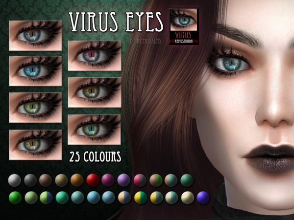 Virus Eyes by RemusSirion at TSR image 819 Sims 4 Updates