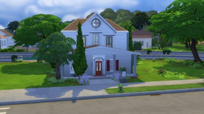 Sims 4 53 River Row Way House No CC by Chax at Mod The Sims