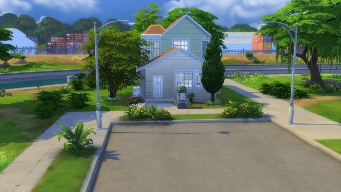 Sims 4 58 River Row Way House No CC by Chax at Mod The Sims