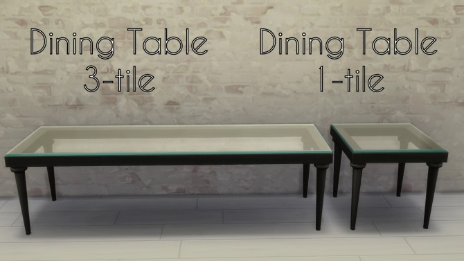 Sims 4 Glass with Class Addons by Madhox at Mod The Sims