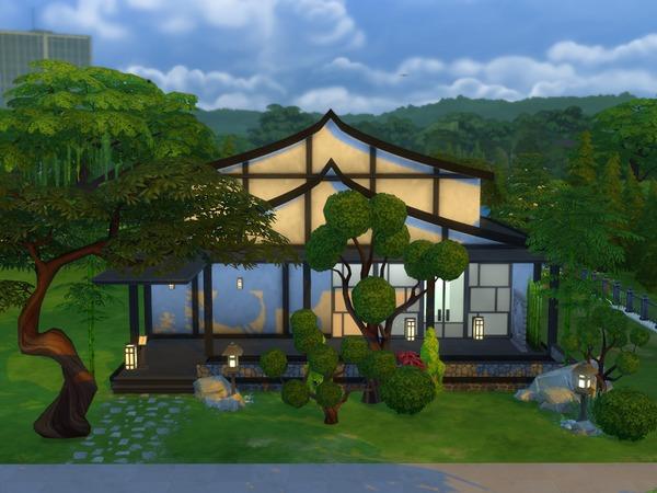 Japanese Restaurant 30x20 by hiyohiyo at TSR image 920 Sims 4 Updates