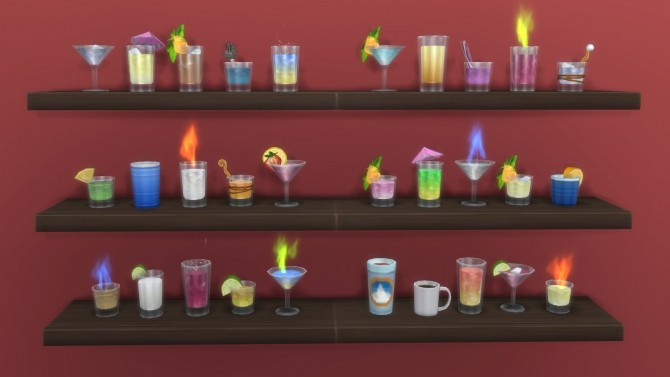 Sims 4 Inedible Edibles Part 6 Potation with effects by Madhox at Mod The Sims