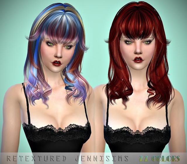 Newsea Vanna and FontanaDiTrevi Hairs retextures at Jenni Sims image 938 Sims 4 Updates