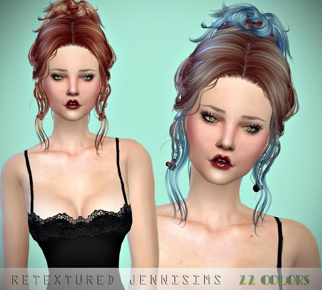 Newsea Vanna and FontanaDiTrevi Hairs retextures at Jenni Sims image 948 Sims 4 Updates