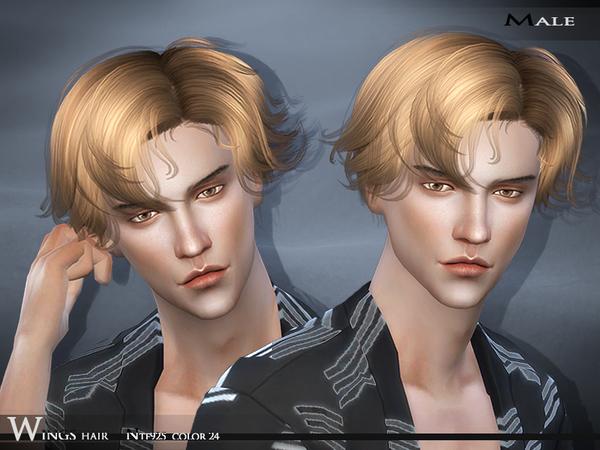 Sims 4 Hair NTF925 F/M by Wings Sims at TSR