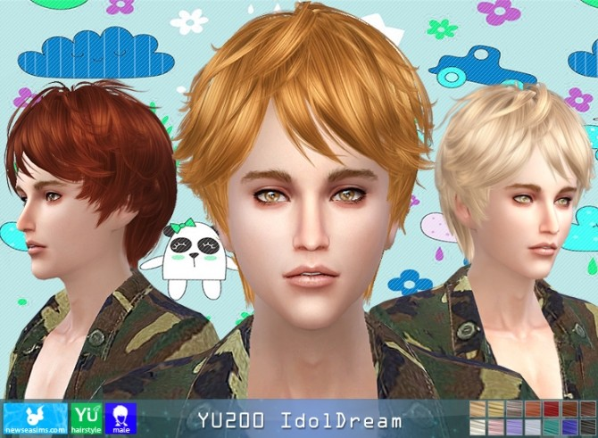 YU200 IdolDream hair (Pay) at Newsea Sims 4 image 963 670x491 Sims 4 Updates