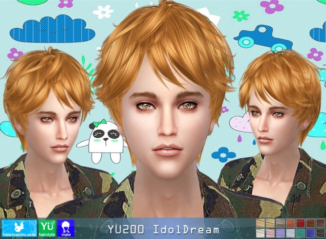 YU200 IdolDream hair (Pay) at Newsea Sims 4 image 973 670x491 Sims 4 Updates