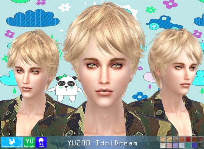 YU200 IdolDream hair (Pay) at Newsea Sims 4 image 982 670x491 Sims 4 Updates