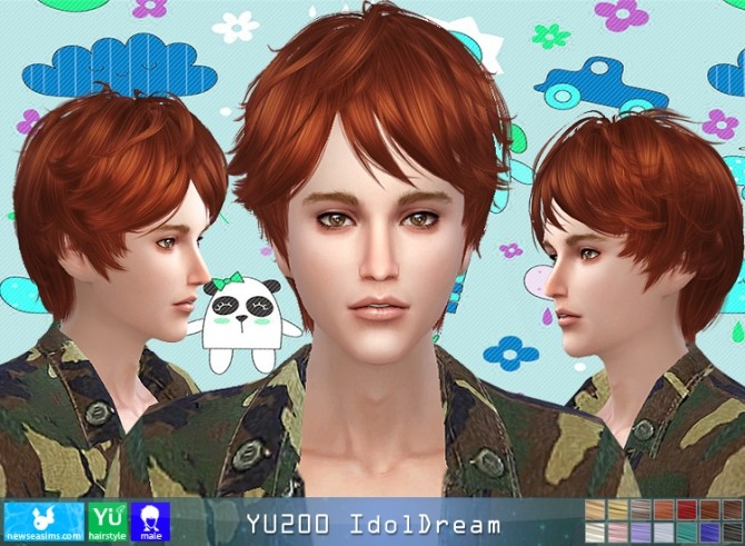 YU200 IdolDream hair (Pay) at Newsea Sims 4 image 993 670x491 Sims 4 Updates