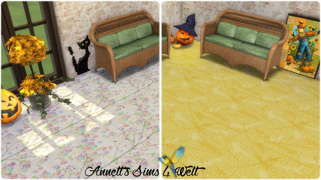 Autumn Carpet Floors at Annett's Sims 4 Welt image 1021 Sims 4 Updates