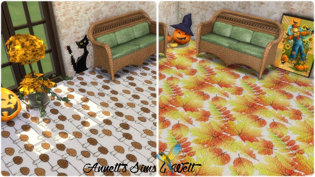 Autumn Carpet Floors at Annett's Sims 4 Welt image 1031 Sims 4 Updates