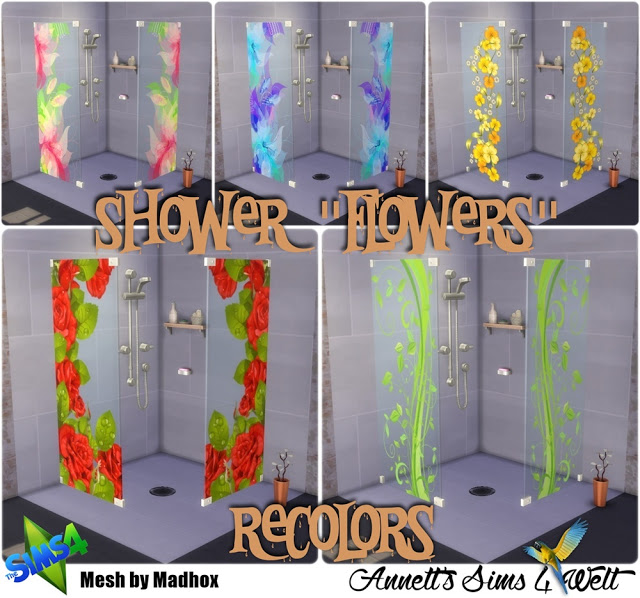 Flowers Shower at Annett's Sims 4 Welt image 1041 Sims 4 Updates
