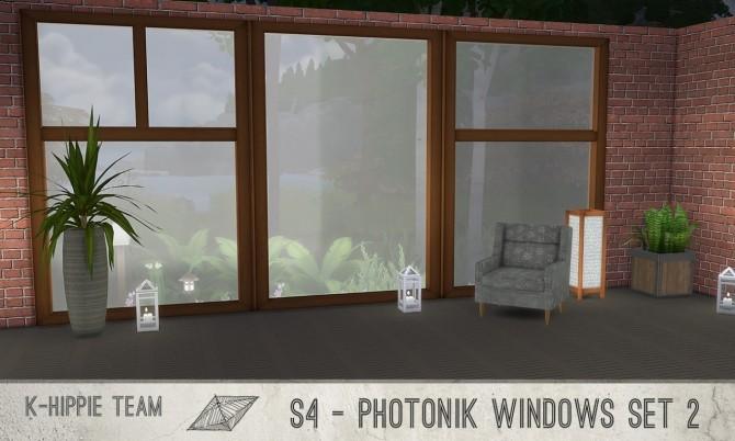 K Photonik Windows Sunny/Moony 18 x 7 recolors Set 2 at K hippie image 10411 670x402 Sims 4 Updates