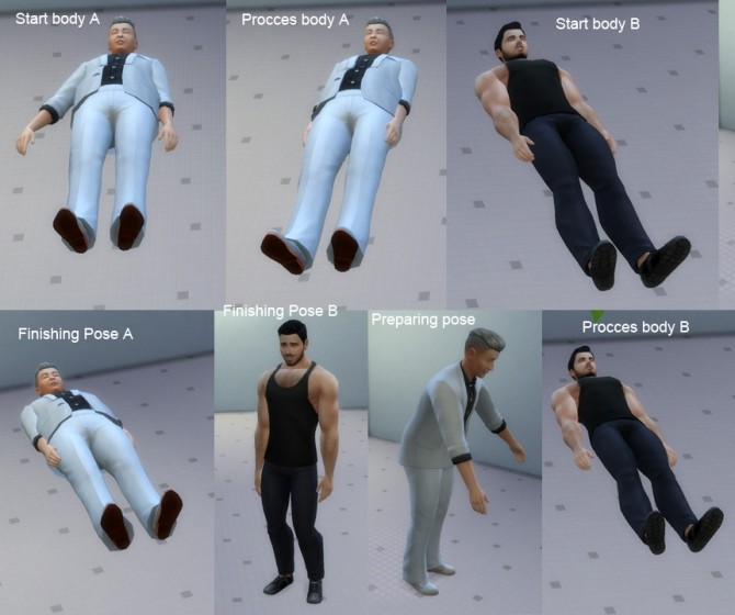 Sims 4 The brain swap machine with poses by necrodog at Mod The Sims