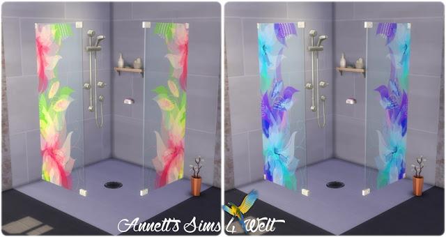 Sims 4 Flowers Shower at Annett's Sims 4 Welt