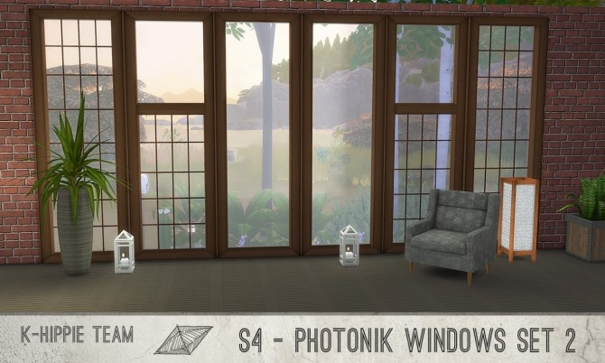 K Photonik Windows Sunny/Moony 18 x 7 recolors Set 2 at K hippie image 10512 670x402 Sims 4 Updates