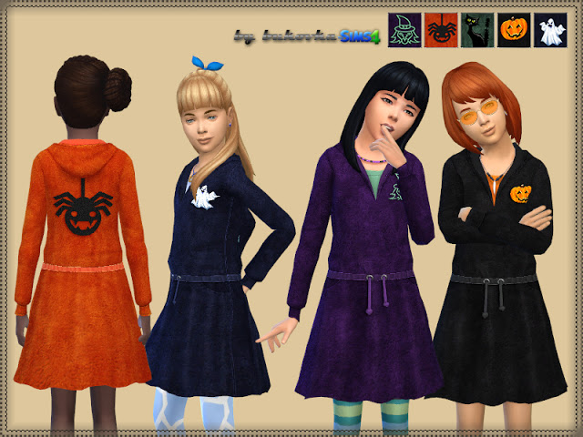 Sims 4 Halloween dress for child at TSR