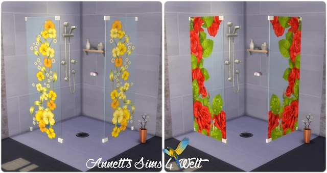 Flowers Shower at Annett's Sims 4 Welt image 1061 Sims 4 Updates