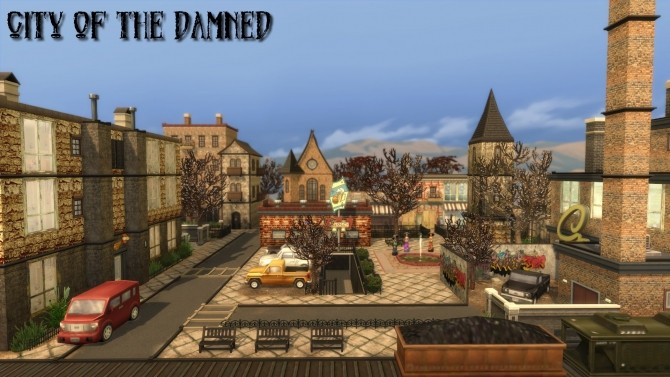 City of the damned by Aya20 at Mod The Sims image 10610 670x377 Sims 4 Updates