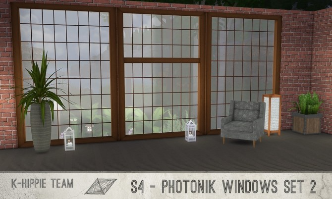Sims 4 K Photonik Windows Sunny/Moony 18 x 7 recolors Set 2 at K hippie