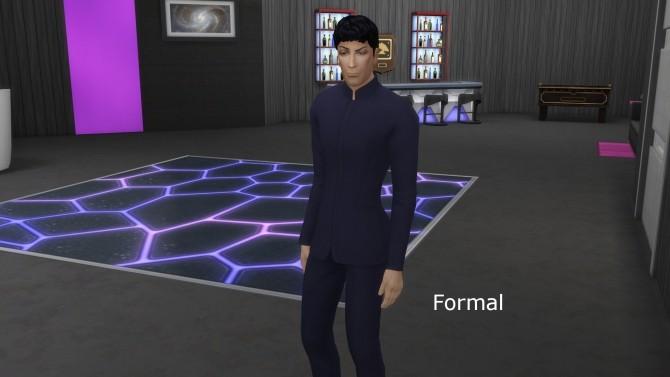 Sims 4 Spock Son of Sarek by Snowhaze at Mod The Sims