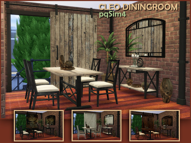 Cleo industrial dining room at pqSims4 image 1073 Sims 4 Updates