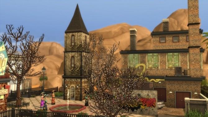 City of the damned by Aya20 at Mod The Sims image 10810 670x377 Sims 4 Updates