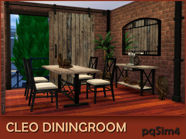 Cleo industrial dining room at pqSims4 image 1093 Sims 4 Updates