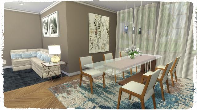 Sims 4 Big Family Kitchen at Dinha Gamer
