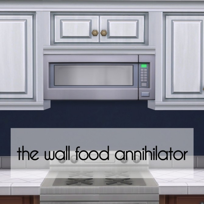 Sims 4 Wall Microwaves by Madhox at Mod The Sims