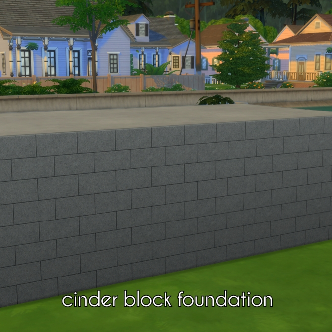 how to add foundation sims 4