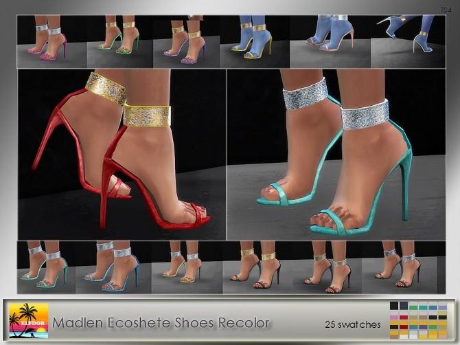Madlen Ecoshete Shoes Recolor at Elfdor Sims image 11614 670x502 Sims 4 Updates