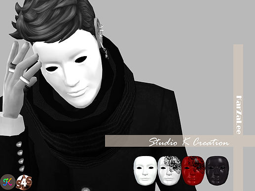 Sims 4 Anonymous Mask at Studio K Creation