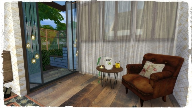 Sims 4 Flat House at Dinha Gamer