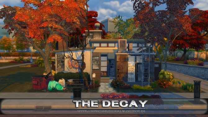 The Decay (Grunge Starter) at Homeless Sims image 1175 670x377 Sims 4 Updates