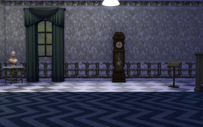 Torn old wallpaper set by TaijaT at Mod The Sims image 1184 670x419 Sims 4 Updates