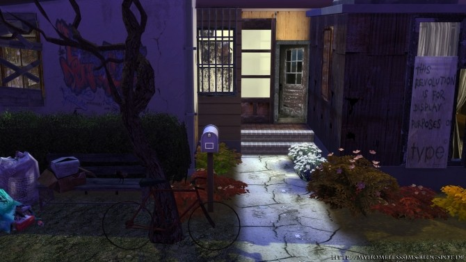 The Decay (Grunge Starter) at Homeless Sims image 1186 670x377 Sims 4 Updates
