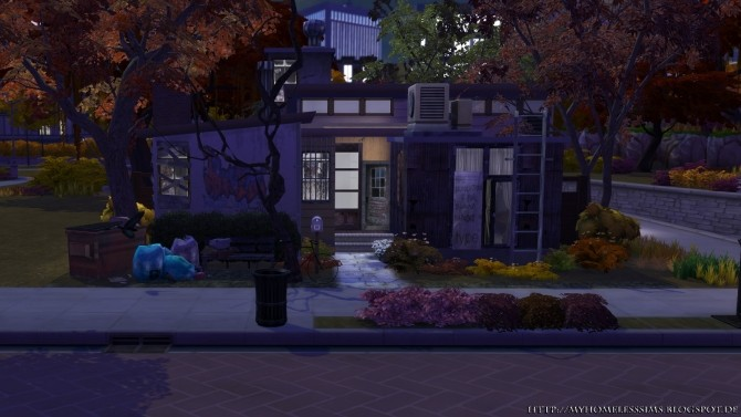 The Decay (Grunge Starter) at Homeless Sims image 1195 670x377 Sims 4 Updates