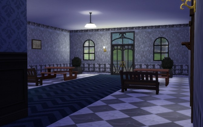 Torn old wallpaper set by TaijaT at Mod The Sims image 1196 670x419 Sims 4 Updates