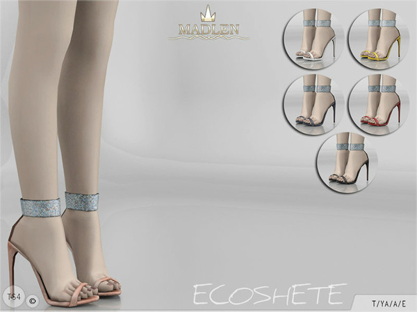 Sims 4 Madlen Ecoshete Shoes by MJ95 at TSR